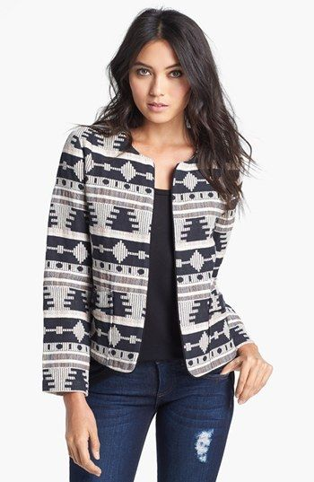 Like Mynded 'Tribal' Pattern Jacket