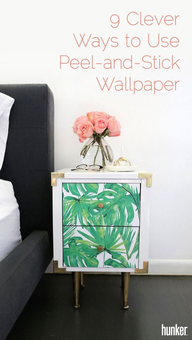 9 Clever Ways To Use Peel And Stick Wallpaper Throughout Your Home Hunker Affordable Decor Decor Home Decor