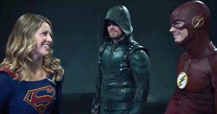 Supergirl Joins The CW Superhero Fight Club, Crossover Villains Revealed -- Supergirl joins The CW Superhero Fight Club, while the villain is revealed for the 4-way crossover with Arrow, Flash and Legends. -- http://tvweb.com/cw-superhero-fight-club-trailer-supergirl-crossover-villains/