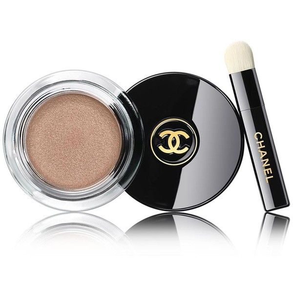 CHANEL Longwear Cream Eyeshadow ($32) ❤ liked on Polyvore featuring beauty products, makeup, eye makeup, eyeshadow, chanel eye shadow, chanel, chanel eyeshadow, long wear eyeshadow and chanel eye makeup