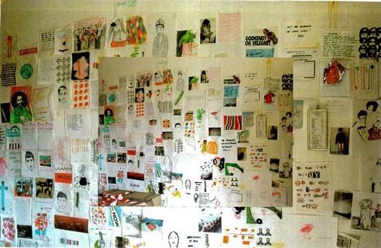Welcome to my world, installation by Rikke Hostrup, Leoplodina, Firenze 2001