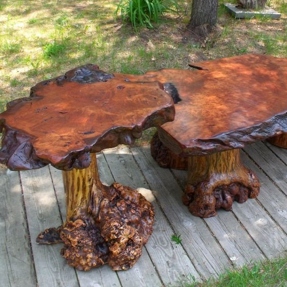 Log Cabin Builder - Wild Log Table