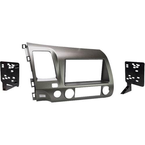 Metra - Dash Kit for Select 2006-2011 Honda Civic Vehicles - Taupe (Brown)