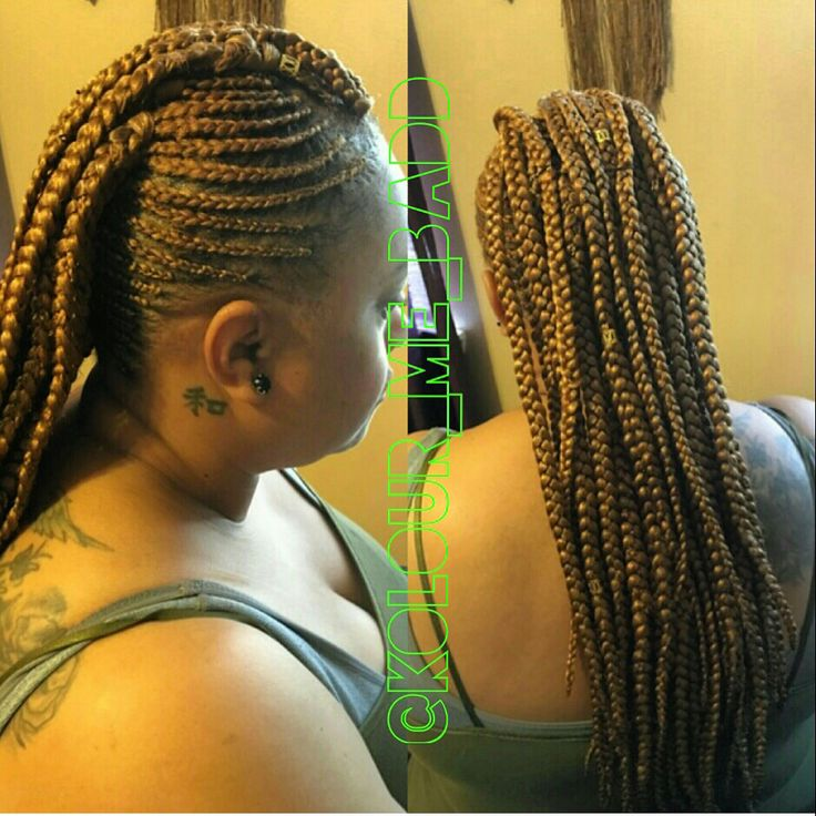 Mohawk Braid Style #braids #protective styles #new Orleans stylist