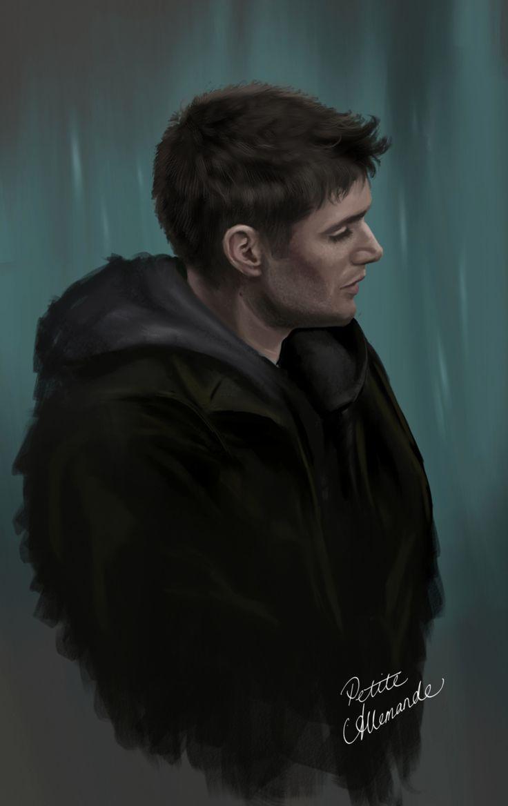 petiteallemande: Dean Winchester SketchSUPERNATURAL © Eric Kripke and the CW