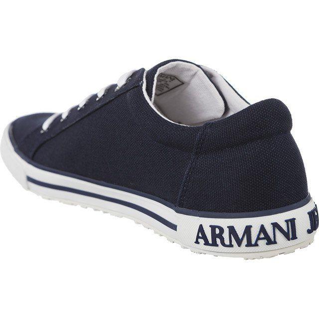 Trampki Damskie Armanijeans Czarne Armani Jeans Woven Sneaker 7p614 00035 Baby Shoes Sneakers Armani Jeans