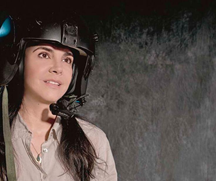 Julieta Vélez: La colombiana que piloteaba helicópteros en Afganistán