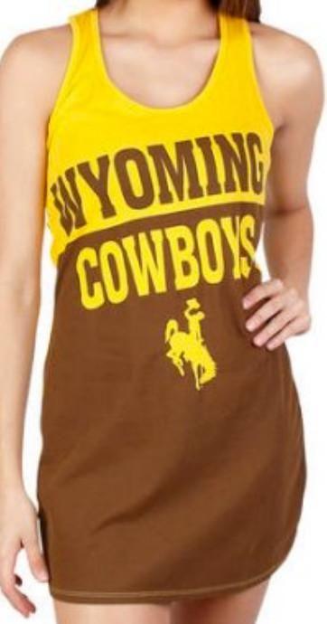 Wyoming Cowboys NCAA Pajama Top Nightshirt