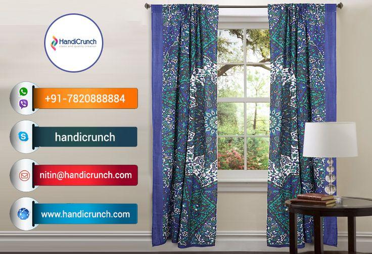 mandala curtains for sale at handicrunch.com