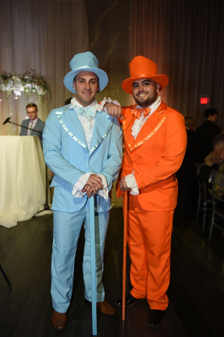 Vintage Elegant Wedding - Toronto, ON    We're huge fans of Dumb & Dumber so it made sense to have Harry & Loyd make a grand entrance to set the tone of the night.   Planning, Design & Decor Rentals Blissful Memories & Events   Venue The Grand Luxe Event Boutique #Torontowedding #vintageelegance #elegantwedding #blissfulmemoriesandevents #dumberanddumber #uniqueweddingdetails #Torontoweddingplanner