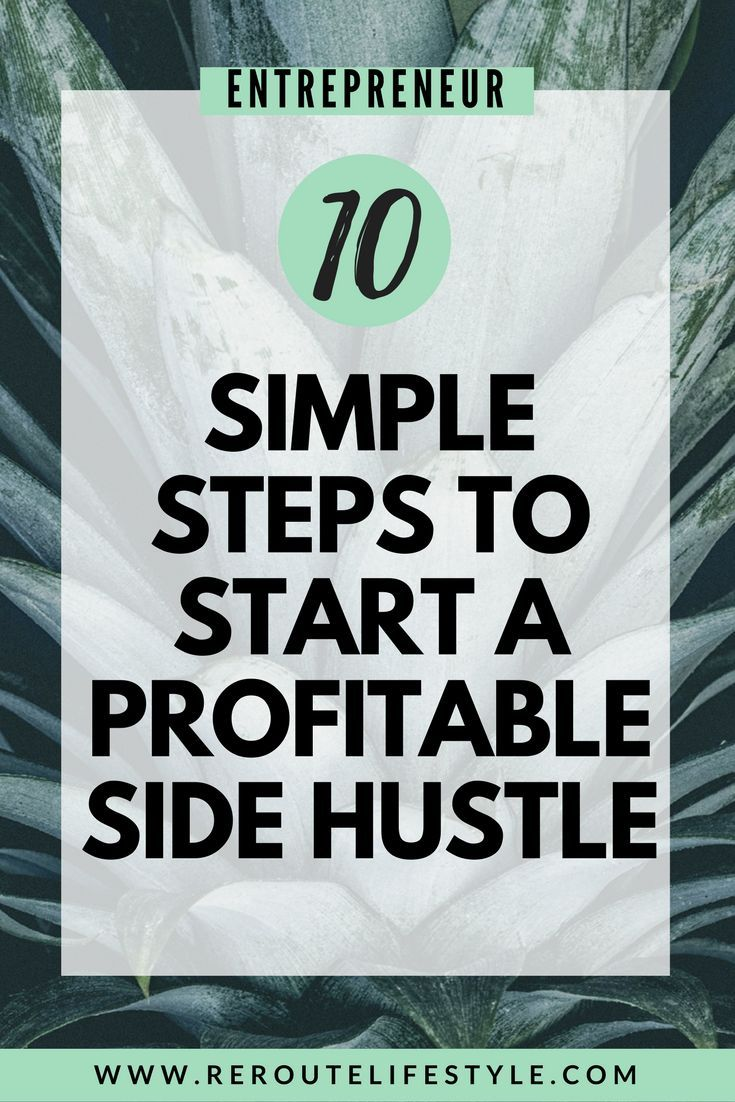 You need to read this comprehensive guide with side hustle ideas for money, passive income inspiration, side hustle tips and advice, so you start a profitable side hustle and make money from home - or anywhere with a wifi signal! (how to start a side hustle) #workfromhome #sahm #reroutelifestyle