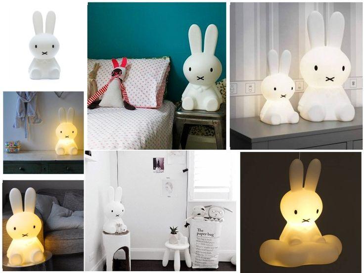 Lampa #Miffy, zajączek ze skandynawskim rodowodem