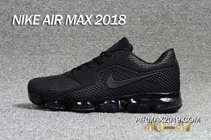 Aflojar Encogerse de hombros pronto  Sneakers https://www.airmax2019.com/2019-new-year-deals-men-nike-air -vapormax-2018-running-shoes-kpu-sku1…   All black nike shoes, Black nike  shoes, Nike air max