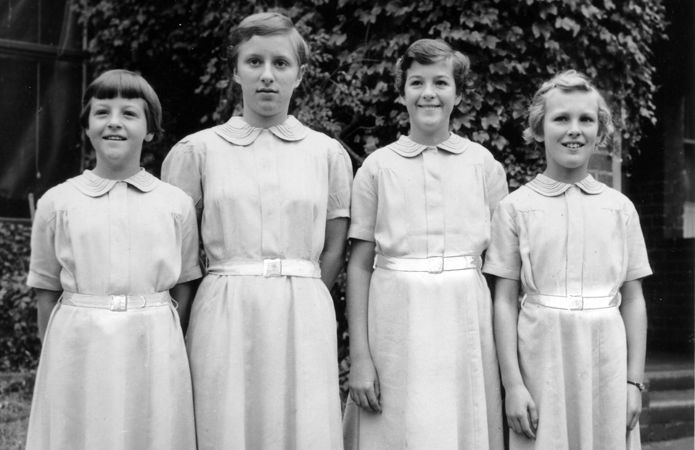 St Michael's, Melbourne Students in 1952