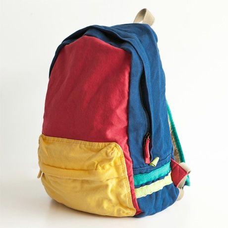 canvas backpack, poketo