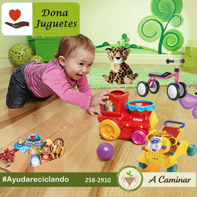 """Dona juguetes que ya no utilizas para que otros niños puedan ser felices, es la realidad y todos podemos formar parte de esto, recogemos a su domicilio sin costo alguno. Contáctenos : 258 2910 / Rpc. 998 178 541  Descubre más de nuestro trabajo aquí:  http://acaminarperu.org/donaciones.html """"Acaminar Perú"""" reciclamos para ayudar ❤"""