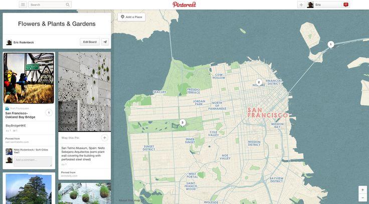 stamen design | Pinterest has maps! By us!