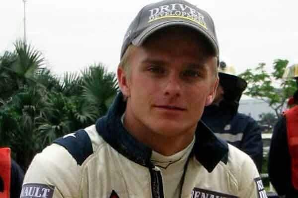 Heikki Kovalainen the Renault development driver