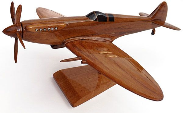 wooden model airplane 1