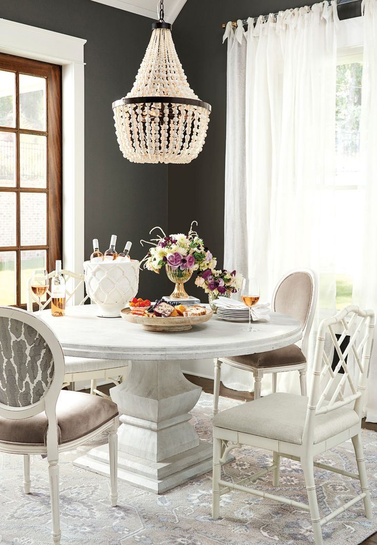 321 best dining room images on pinterest apartments for Neutral dining room ideas
