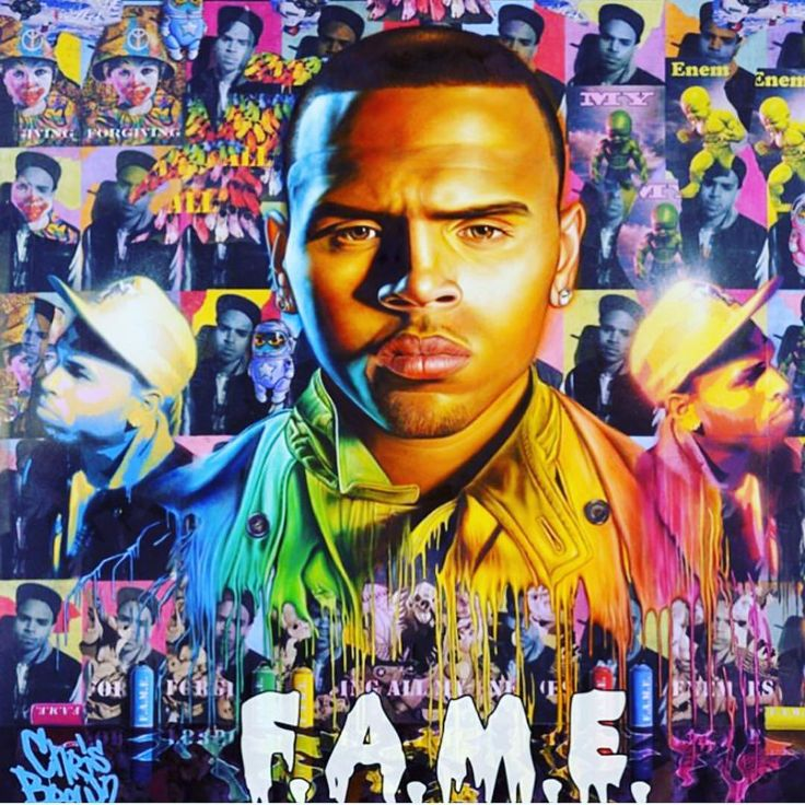 """198.1k Likes, 3,309 Comments - @chrisbrownofficial on Instagram: """"6years of FAME! ❤️️1st Grammy! Diamond in singles. 🎉🎉🎉 Cover by @ronenglishart !!! Love you so much…"""""""