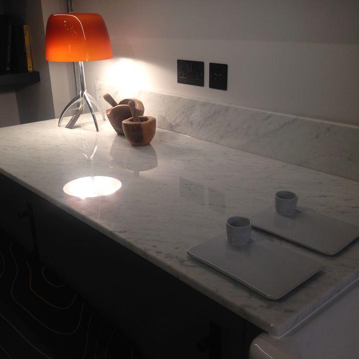 Bianco Carrara Kitchen Worktop