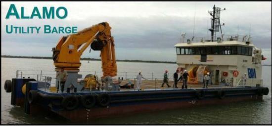 BM ALAMO - Bhagwan Marine For more details visit: http://seacogs.com/Vessels/Vessel?ID=74 #SEACOGS #Barges #Bhagwanmarine