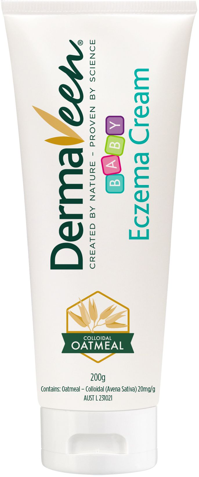 DermaVeen Baby Eczema Cream is a cream that offers symptomatic relief of mild eczema. It helps relieve itch and irritation; rehydrates, moisturises and helps pro...