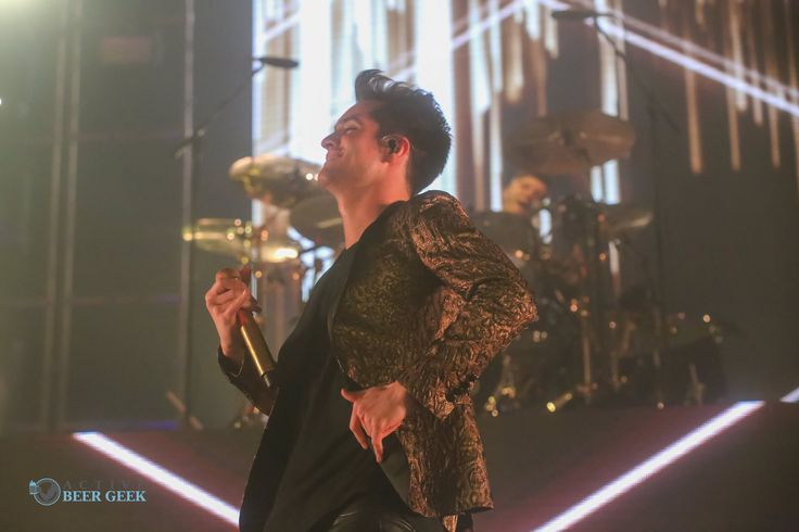 Panic! At the Disco performing at Cross Insurance Arena in Portland, Maine.
