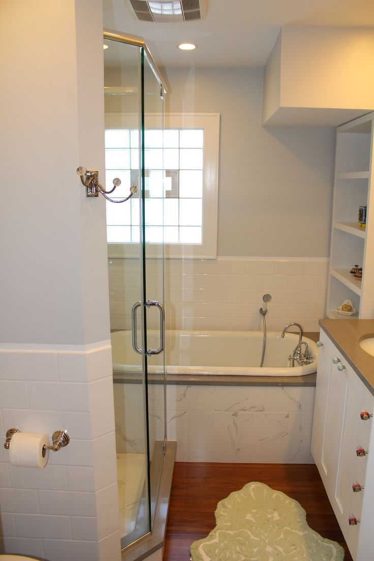 Calgary bathworks calgary bathroom renovations bathroom gallery - We Turned A Small Space Into A Master Bathroom Sanctuary Modern Design With A Classic Twist Bathroom Design And Remodel By