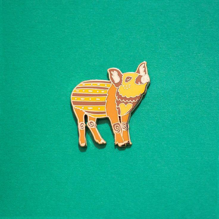 Boar / Pig Chinese Zodiac Enamel Pin