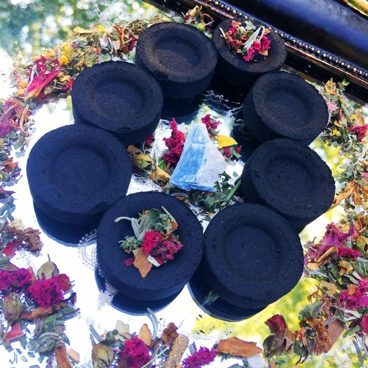 CHARCOAL BURNING TABLETS, SelfIgniting for Loose Incense