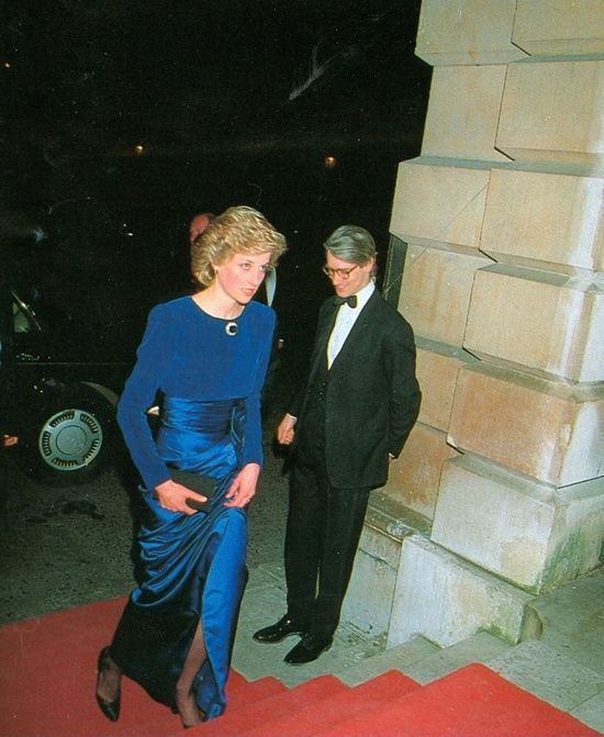 February 25, 1986: Prince Charles & Princess Diana attend a Beethoven Gala Concert at the Royal Academy of Arts in aid of the Royal Academy Trust