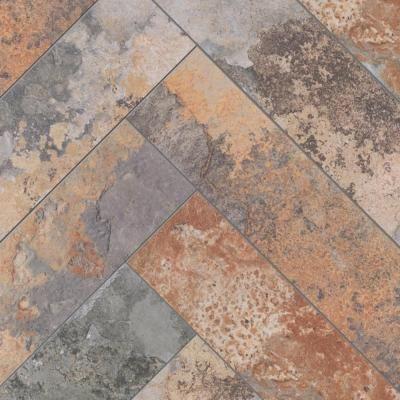 Marazzi Piazza Vita Elegante Ardesia 6 x 24 Glazed Porcelain Floor Tile