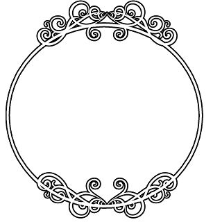 round circle border frame - free vector borders to download | BORDERS ...