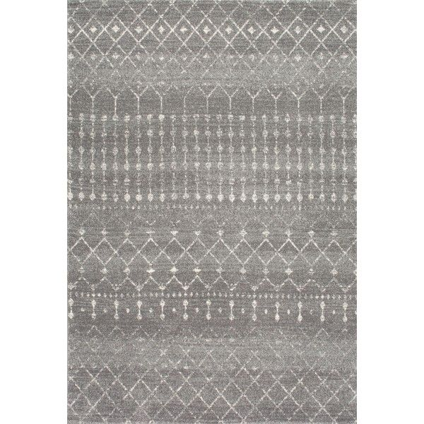 BosphorusMoroccan Trellis BD16 Rug (4,305 MXN) ❤ liked on Polyvore featuring home, rugs, low pile area rug, polypropylene rugs, plush rugs, plush area rugs and olefin area rugs