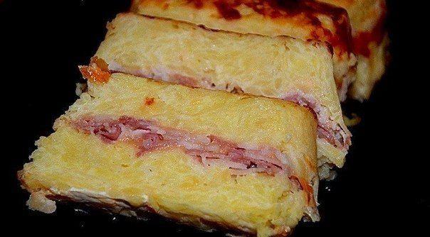 Картофельный террин с беконом   Кулинарные Рецепты
