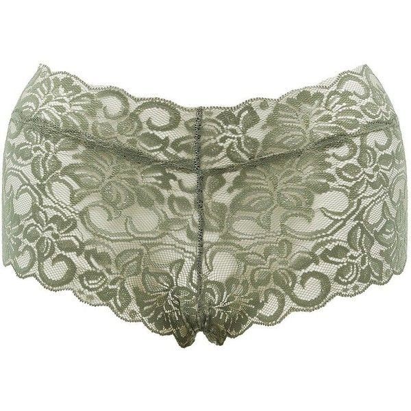 Charlotte Russe Sheer Lace Cheeky Panties ($3.49) ❤ liked on Polyvore featuring plus size women's fashion, plus size clothing, plus size intimates, plus size panties, thyme, floral print panties, sheer panty, floral panty, transparent panties and floral panties
