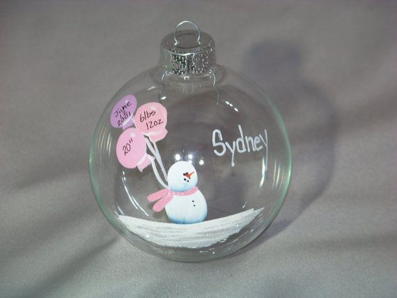 Personalized Baptism/ Christening/ Shower Gift Time Capsule for Baby Girl