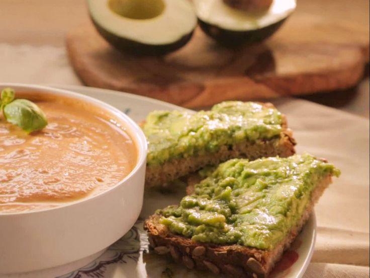 Avocado Pesto Toast recipe from Trisha Yearwood via Food Network