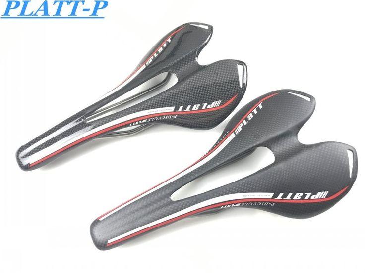 36.99$  Watch now - http://ali80v.shopchina.info/1/go.php?t=32489404774 - Carbon cushion+Titanium bow new full carbon saddle 3K carbon fiber bike parts Road/MTB  Bike Seat Cushion Saddle for a bicycle  #buyonlinewebsite