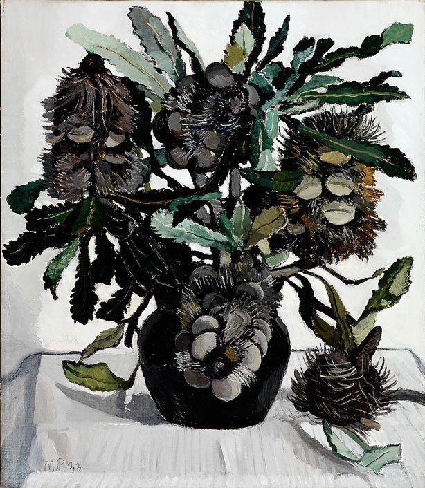 Banksia cobs, (1933) by Margaret Preston  (Australian Art)