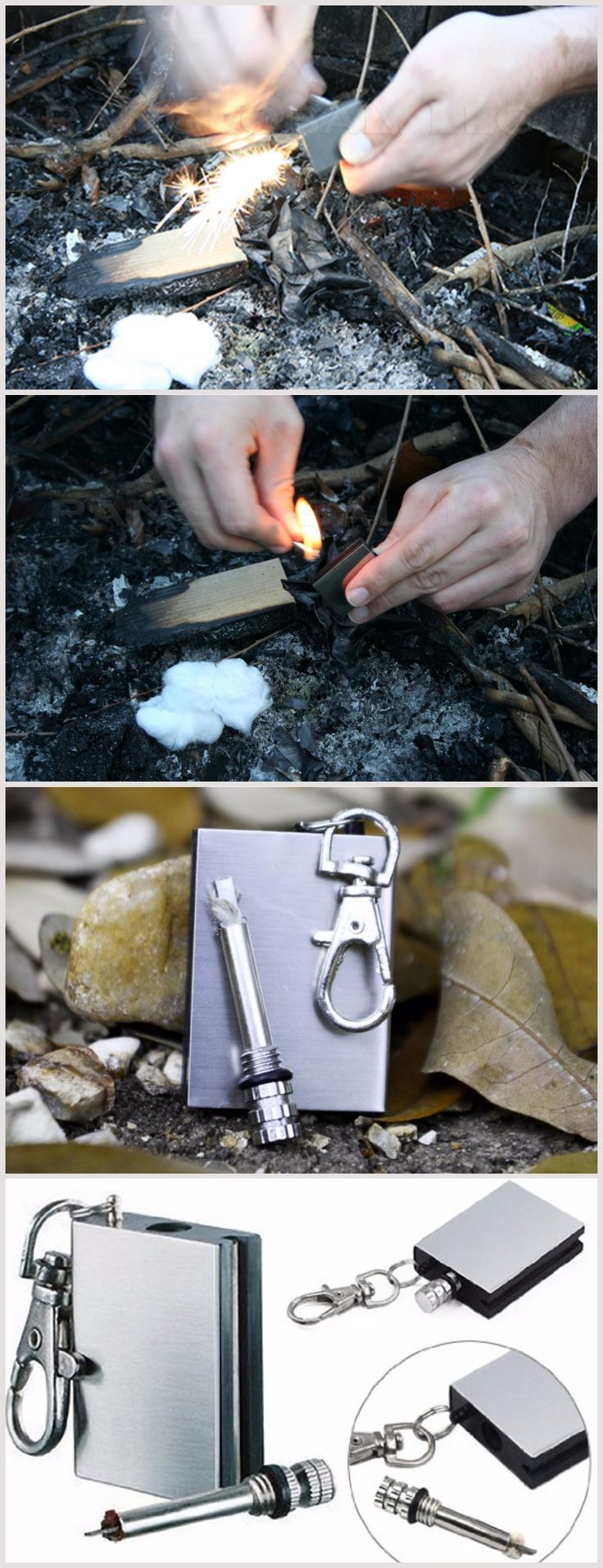 WATERPROOF EDC EMERGENCY SURVIVAL FIRE STARTER KIT FOR FREE! - Everyday Carry Gear