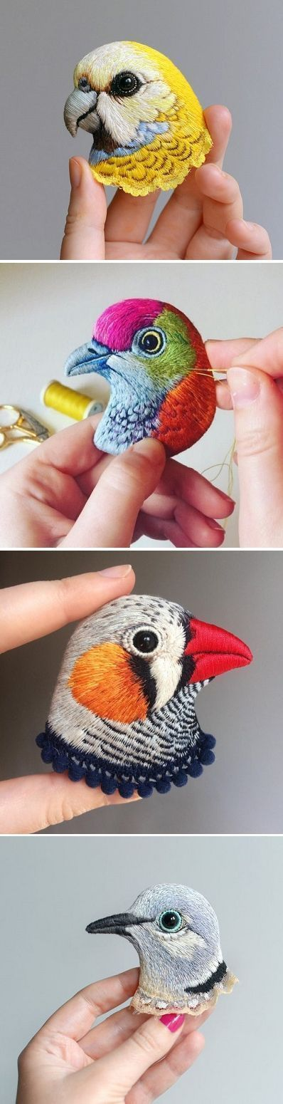 Embroidery by Paulina Bartnik / on the blog!