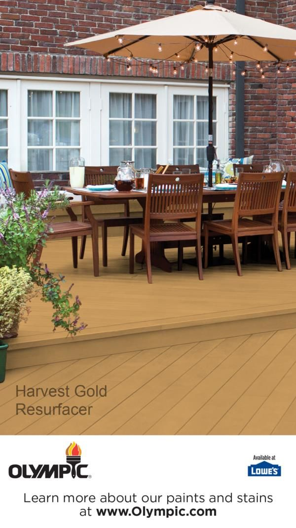 HARVEST GOLD Is A Part Of The Olympic Resurfacer Colors   Yellow Collection  By Olympic®