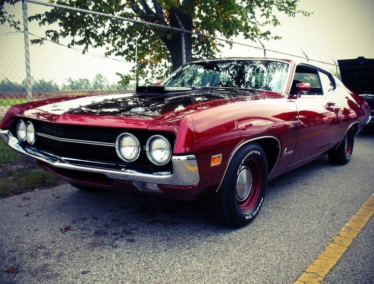 12 best muscle cars images on Pinterest | Ford torino, Gran torino ...