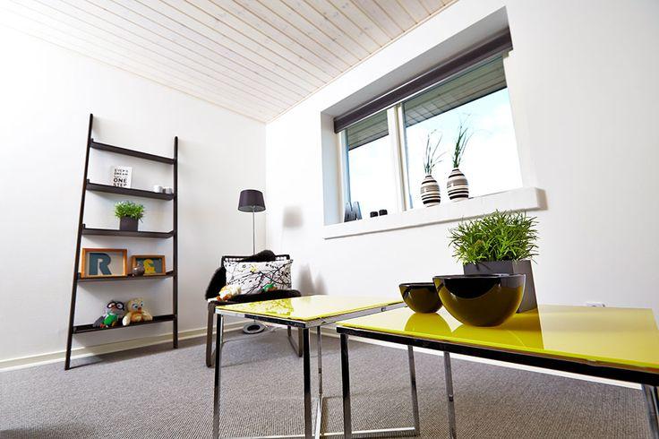Værelse fra et af vores huse #huscompagniet #inspiration #indretning #husbyg #indretning #nybyg #husejer #nythus