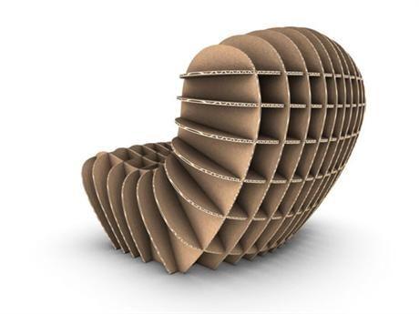 Cardboard Chair by David Graas