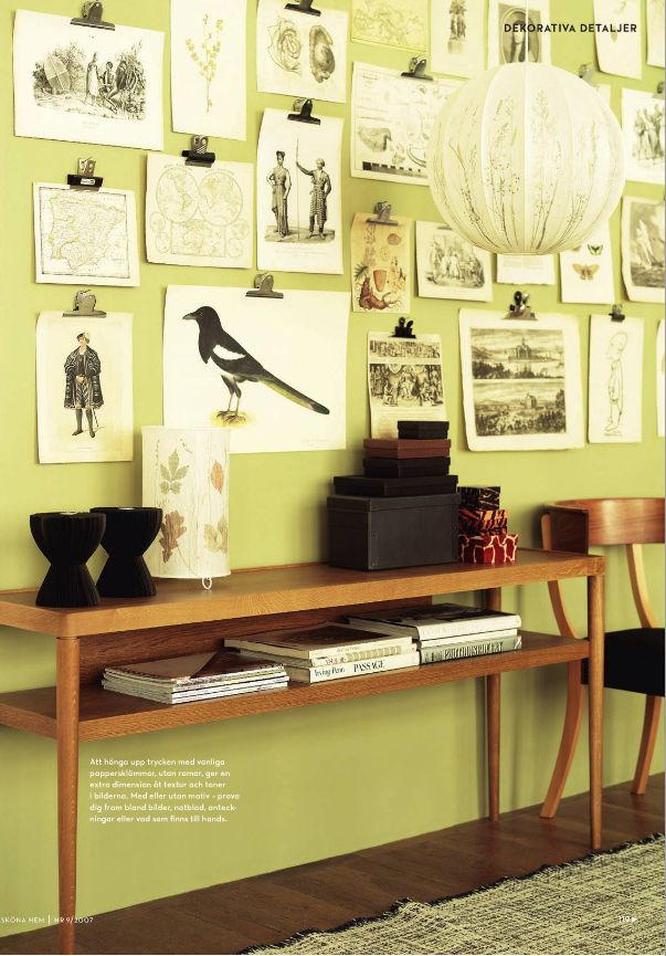 94 best Wall Art ~ Display images on Pinterest | Decorating ideas ...