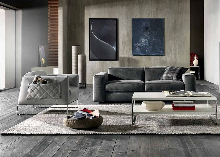 Natuzzi Italia Brio - the ideal choice for a modern living room. The modular design and huge range of fabrics mean you can create your perfect sofa. We love how it looks in a grey themed living room